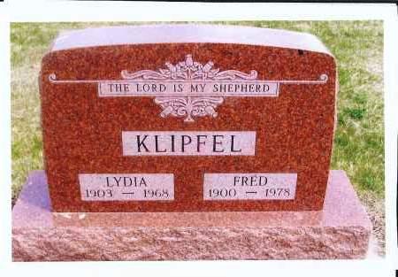 BENDER KLIPFEL, LYDIA - McIntosh County, North Dakota | LYDIA BENDER KLIPFEL - North Dakota Gravestone Photos