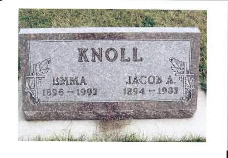 KNOLL, JACOB A. - McIntosh County, North Dakota | JACOB A. KNOLL - North Dakota Gravestone Photos