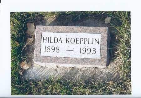 KOEPPLIN, HILDA - McIntosh County, North Dakota | HILDA KOEPPLIN - North Dakota Gravestone Photos