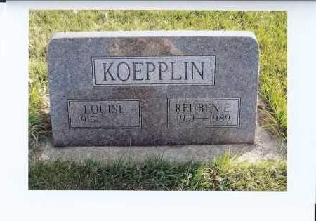 KOEPPLIN, REUBEN E. - McIntosh County, North Dakota | REUBEN E. KOEPPLIN - North Dakota Gravestone Photos