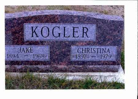 KOTH KOGLER, CHRISTINA - McIntosh County, North Dakota | CHRISTINA KOTH KOGLER - North Dakota Gravestone Photos
