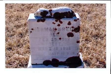 KREIN, HERMAN - McIntosh County, North Dakota | HERMAN KREIN - North Dakota Gravestone Photos
