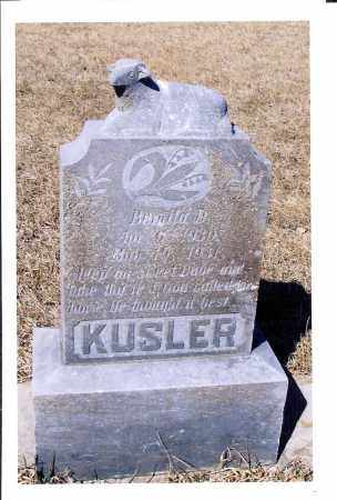 KUSLER, BERNITA D. - McIntosh County, North Dakota   BERNITA D. KUSLER - North Dakota Gravestone Photos