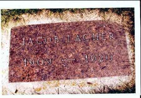 LACHER, JACOB - McIntosh County, North Dakota | JACOB LACHER - North Dakota Gravestone Photos