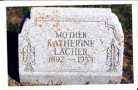 LACHER, KATHERINE - McIntosh County, North Dakota | KATHERINE LACHER - North Dakota Gravestone Photos