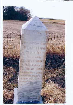 LEICHT, CHRISTIAN - McIntosh County, North Dakota | CHRISTIAN LEICHT - North Dakota Gravestone Photos