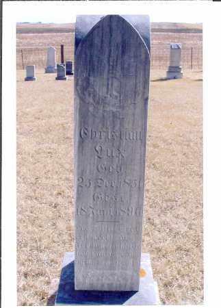 LUX, CHRISTIAN - McIntosh County, North Dakota | CHRISTIAN LUX - North Dakota Gravestone Photos