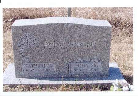 LUX MAESSNER, KATHERINA - McIntosh County, North Dakota | KATHERINA LUX MAESSNER - North Dakota Gravestone Photos