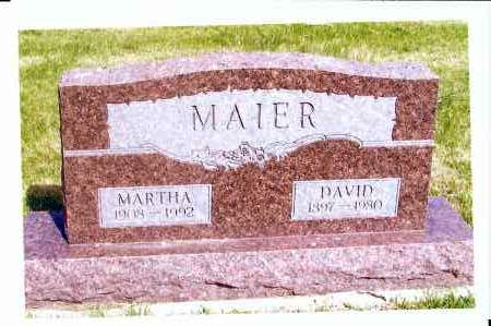 MAIER, DAVID - McIntosh County, North Dakota | DAVID MAIER - North Dakota Gravestone Photos