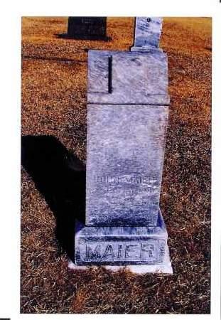 MAIER, JOHN - McIntosh County, North Dakota | JOHN MAIER - North Dakota Gravestone Photos