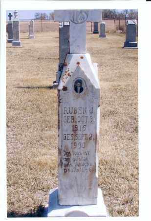 MAIER, RUBEN J. - McIntosh County, North Dakota | RUBEN J. MAIER - North Dakota Gravestone Photos