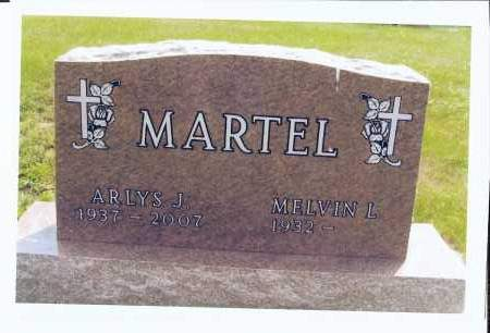 FIECHTNER MARTEL, ARLYS J. - McIntosh County, North Dakota | ARLYS J. FIECHTNER MARTEL - North Dakota Gravestone Photos