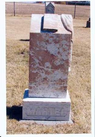 MARTEL, KATHARINA - McIntosh County, North Dakota   KATHARINA MARTEL - North Dakota Gravestone Photos