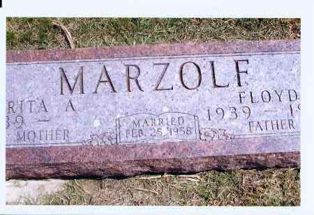 MARZOLF, FLOYD - McIntosh County, North Dakota   FLOYD MARZOLF - North Dakota Gravestone Photos