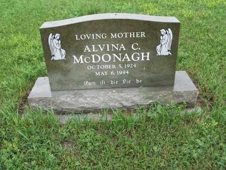 MCDONAGH 101, ALVINA C. - McIntosh County, North Dakota   ALVINA C. MCDONAGH 101 - North Dakota Gravestone Photos