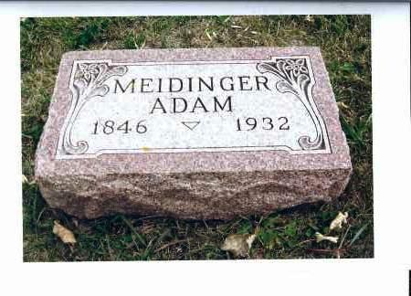 MEIDINGER, ADAM - McIntosh County, North Dakota | ADAM MEIDINGER - North Dakota Gravestone Photos