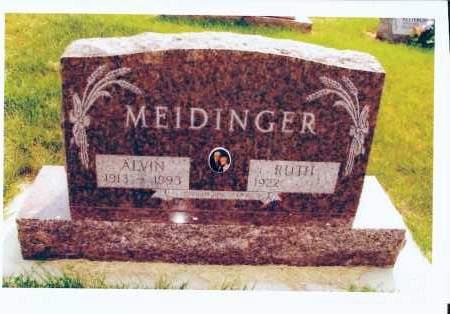 MEIDINGER, RUTH - McIntosh County, North Dakota   RUTH MEIDINGER - North Dakota Gravestone Photos