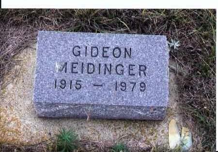 MEIDINGER, GIDEON - McIntosh County, North Dakota | GIDEON MEIDINGER - North Dakota Gravestone Photos