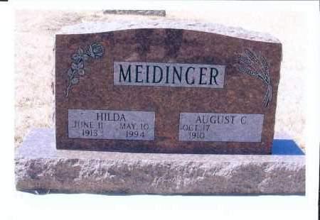 MEIDINGER, HILDA - McIntosh County, North Dakota   HILDA MEIDINGER - North Dakota Gravestone Photos