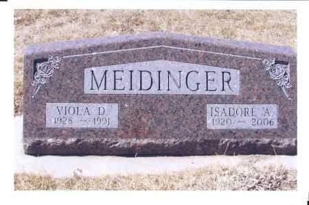 MEIDINGER, VIOLA D. - McIntosh County, North Dakota | VIOLA D. MEIDINGER - North Dakota Gravestone Photos