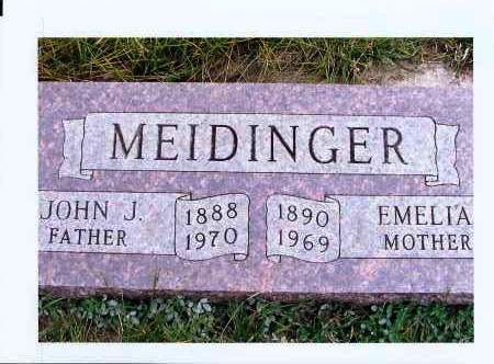 MEIDINGER, JOHN J. - McIntosh County, North Dakota | JOHN J. MEIDINGER - North Dakota Gravestone Photos