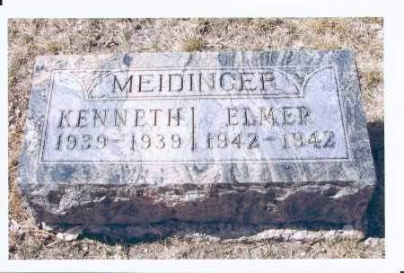 MEIDINGER, KENNETH - McIntosh County, North Dakota | KENNETH MEIDINGER - North Dakota Gravestone Photos