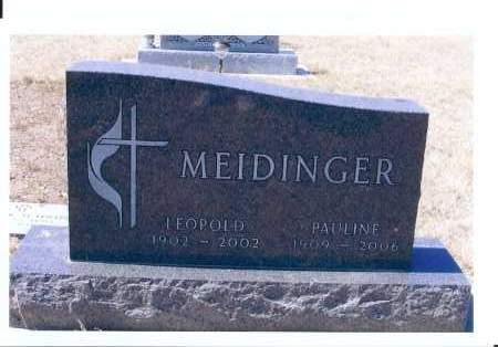 MEIDINGER, LEOPOLD - McIntosh County, North Dakota   LEOPOLD MEIDINGER - North Dakota Gravestone Photos