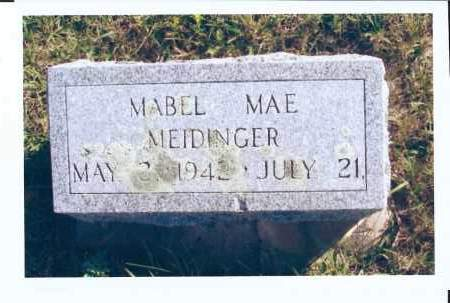 MEIDINGER, MABEL MAE - McIntosh County, North Dakota | MABEL MAE MEIDINGER - North Dakota Gravestone Photos