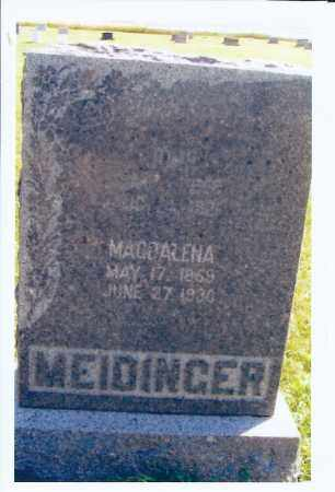 MEIDINGER, MAGDALENA - McIntosh County, North Dakota   MAGDALENA MEIDINGER - North Dakota Gravestone Photos