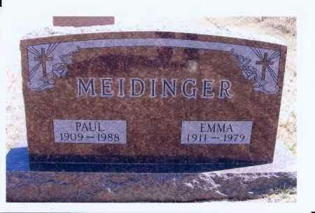MEIDINGER, EMMA - McIntosh County, North Dakota | EMMA MEIDINGER - North Dakota Gravestone Photos