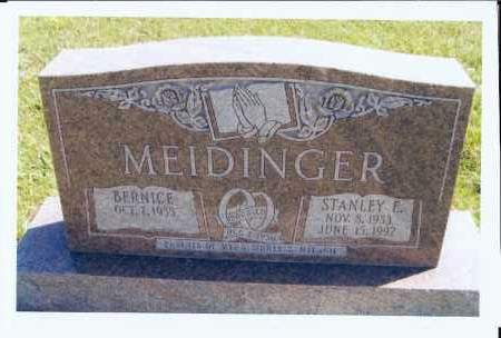 MEIDINGER, STANLEY E. - McIntosh County, North Dakota | STANLEY E. MEIDINGER - North Dakota Gravestone Photos