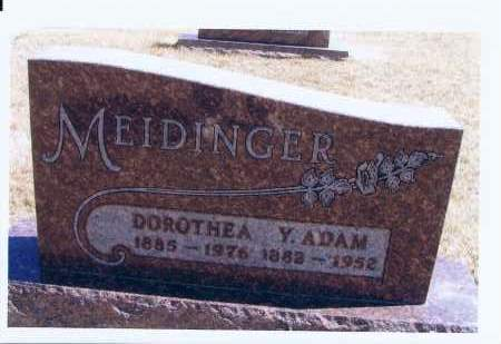 MEDINGER, DOROTHEA - McIntosh County, North Dakota | DOROTHEA MEDINGER - North Dakota Gravestone Photos