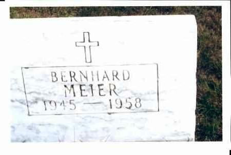 MEIER, BERNHARD - McIntosh County, North Dakota | BERNHARD MEIER - North Dakota Gravestone Photos