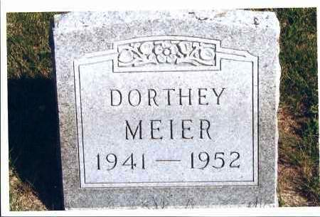 MEIER, DORTHEY - McIntosh County, North Dakota | DORTHEY MEIER - North Dakota Gravestone Photos