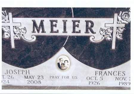 MEIER, FRANCES - McIntosh County, North Dakota | FRANCES MEIER - North Dakota Gravestone Photos
