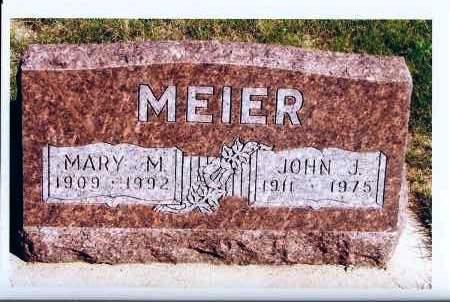 MEIER, MARY M. - McIntosh County, North Dakota   MARY M. MEIER - North Dakota Gravestone Photos