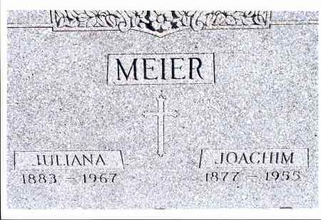 MEIER, JULIANA - McIntosh County, North Dakota | JULIANA MEIER - North Dakota Gravestone Photos