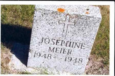 MEIER, JOSEPHINE - McIntosh County, North Dakota | JOSEPHINE MEIER - North Dakota Gravestone Photos