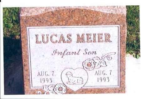 MEIER, LUCAS - McIntosh County, North Dakota | LUCAS MEIER - North Dakota Gravestone Photos