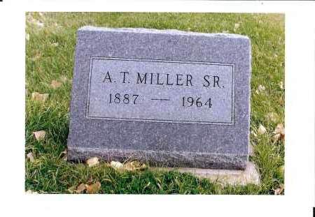 MILLER, A. T. SR. - McIntosh County, North Dakota | A. T. SR. MILLER - North Dakota Gravestone Photos