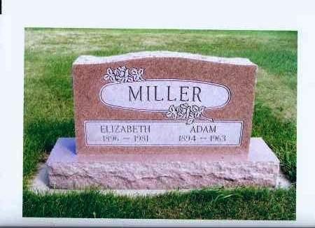 MILLER, ADAM - McIntosh County, North Dakota | ADAM MILLER - North Dakota Gravestone Photos
