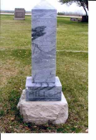 MILLER, ADOLF - McIntosh County, North Dakota | ADOLF MILLER - North Dakota Gravestone Photos