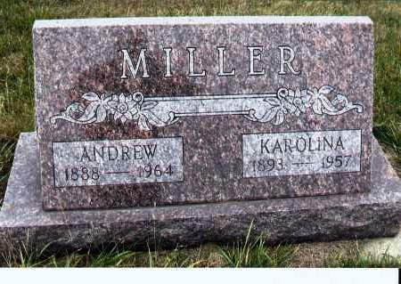 MILLER, KAROLINA - McIntosh County, North Dakota   KAROLINA MILLER - North Dakota Gravestone Photos