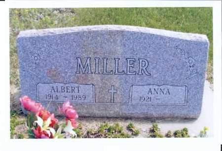 MILLER, ALBERT - McIntosh County, North Dakota | ALBERT MILLER - North Dakota Gravestone Photos