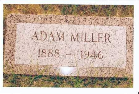 MILLER, ADAM - McIntosh County, North Dakota   ADAM MILLER - North Dakota Gravestone Photos