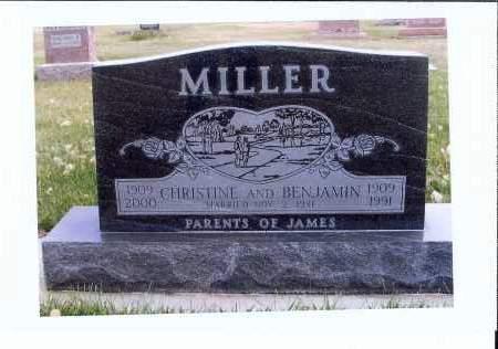 MILLER, BENJAMIN - McIntosh County, North Dakota | BENJAMIN MILLER - North Dakota Gravestone Photos