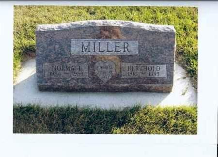 MILLER, NORNA I. - McIntosh County, North Dakota | NORNA I. MILLER - North Dakota Gravestone Photos