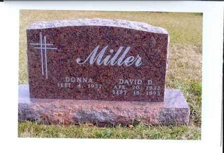 MILLER, DAVID D. - McIntosh County, North Dakota   DAVID D. MILLER - North Dakota Gravestone Photos