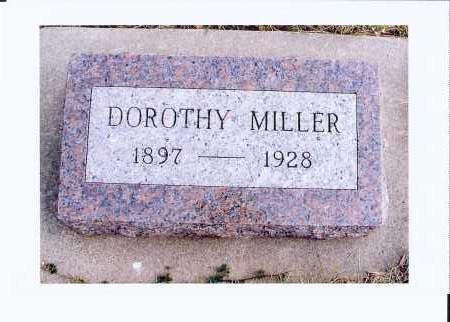 MILLER, DOROTHY - McIntosh County, North Dakota | DOROTHY MILLER - North Dakota Gravestone Photos