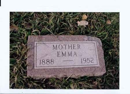 MILLER, EMMA - McIntosh County, North Dakota | EMMA MILLER - North Dakota Gravestone Photos